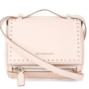 Givenchy Studded Mini Pandora Box in Nude Pink